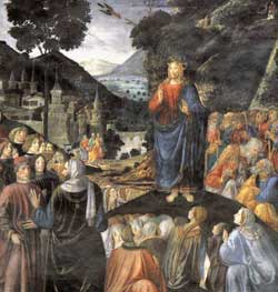 Rosselli's Sermon on the Mount