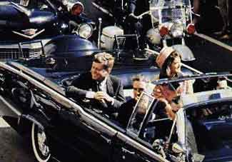 President John F Kennedy, Dallas, Texas, Nov. 22, 1963