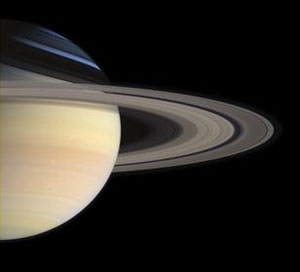 Saturn as seen from Cassini