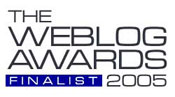 2005 Weblog Awards Finalist