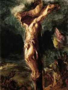 Christ on the Cross, Eugene Delacroix
