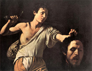 David with the head of Goliath, Michelangelo Merisi da Caravaggio