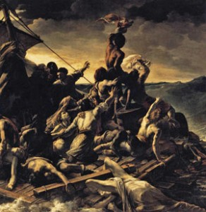Raft of the Medusa, Theodore Gericault