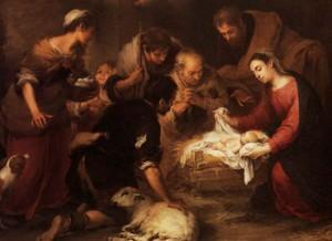 Adoration of the Shepherds, Bartolomé Esteban Murillo