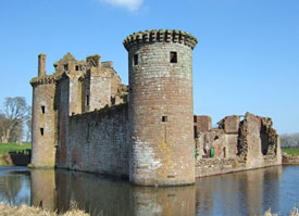 Castle-and-moat