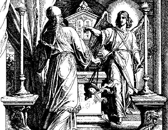 Gabriel-appears-to-Zechariah