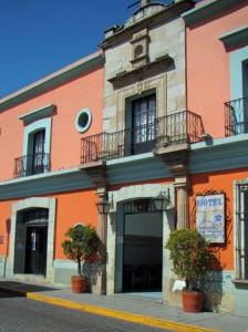 Hotel Posada del Virrey, Oaxaca, Mexico