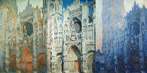 Claude Monet's paintings of the Rouen Cathedral