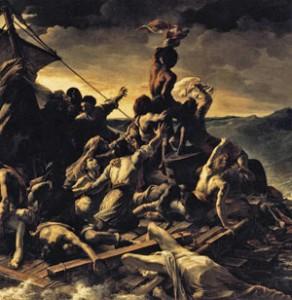 Raft of the Medusa, Theodore Gericault