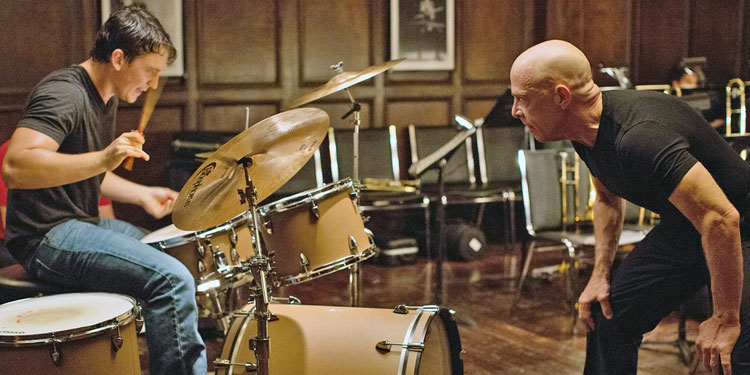 Scene from Damien Chazelle's Whiplash